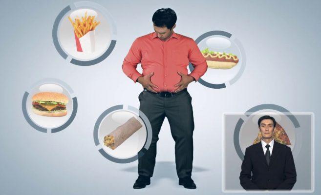 Профилактика избыточной массы тела и неправильного питания (KZ)