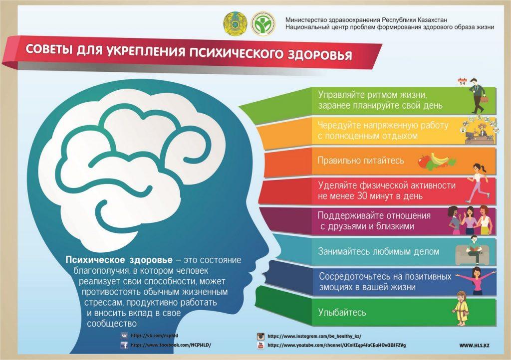 листовка советы псих здоровья А5 рус