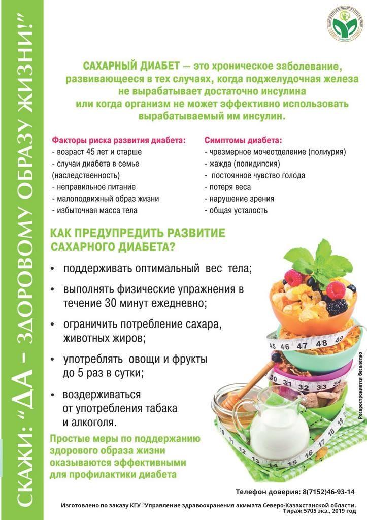 14 ноября - Всемирный день борьбы с сахарным диабетом